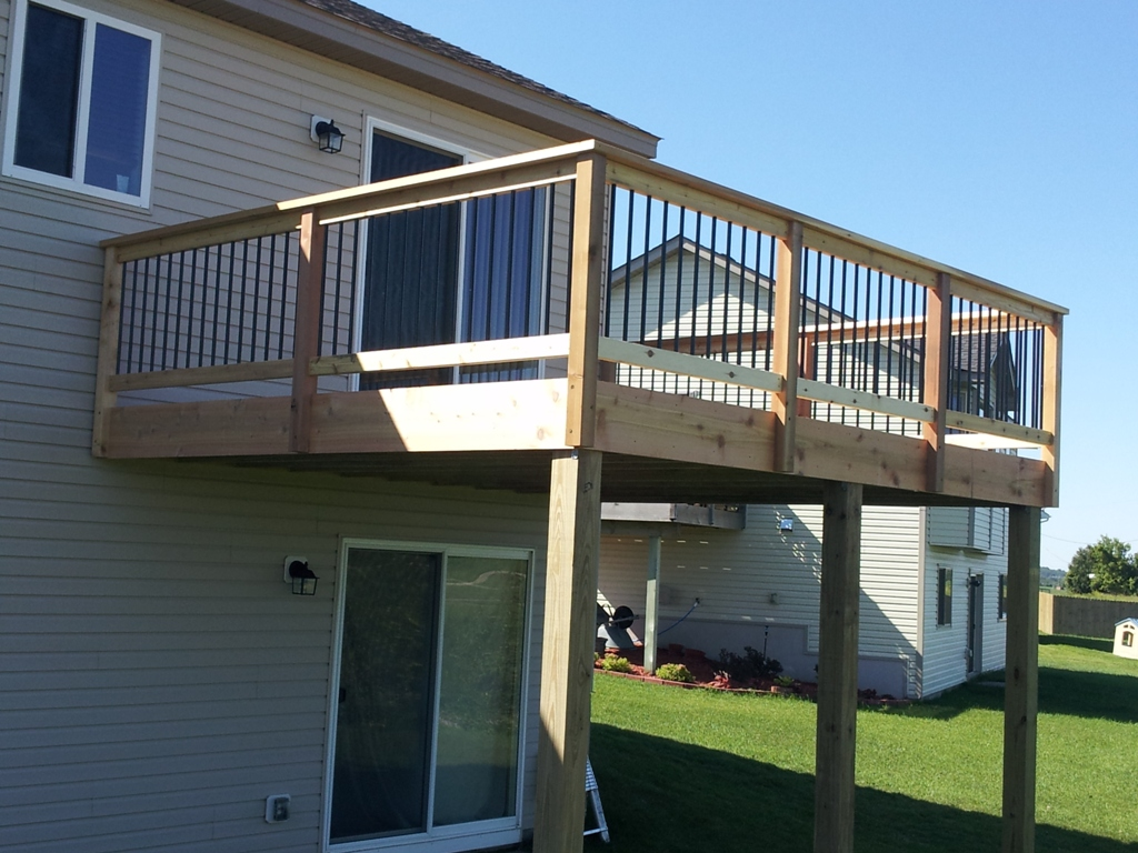 how to build a 14x16 deck
