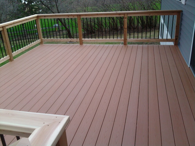 Vanderhoff construction for Composite decking and railing